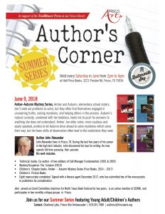 Author's Corner John Alexander Summer